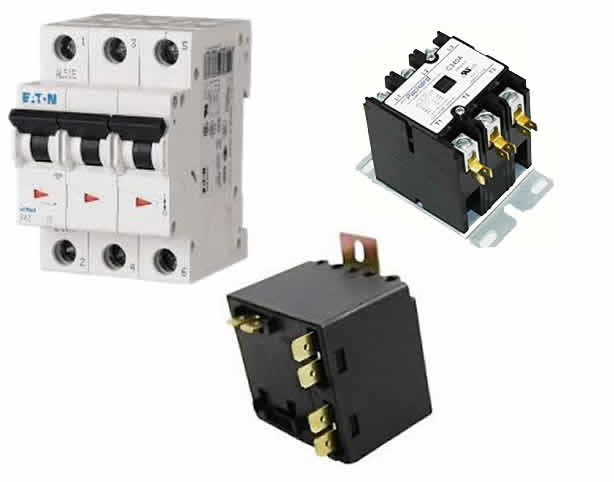 Circuit Protection, Contactors, and Relays